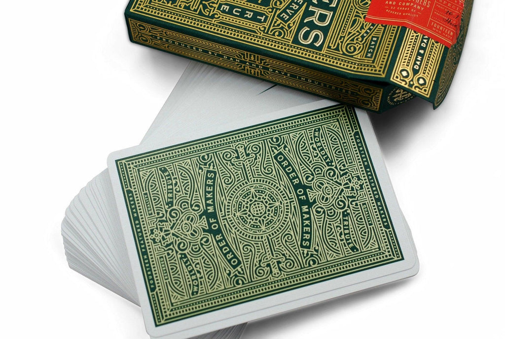 MAKERS Playing Cards - RarePlayingCards.com - 6