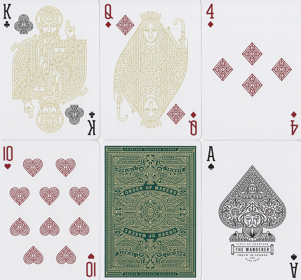 MAKERS Playing Cards - RarePlayingCards.com - 8