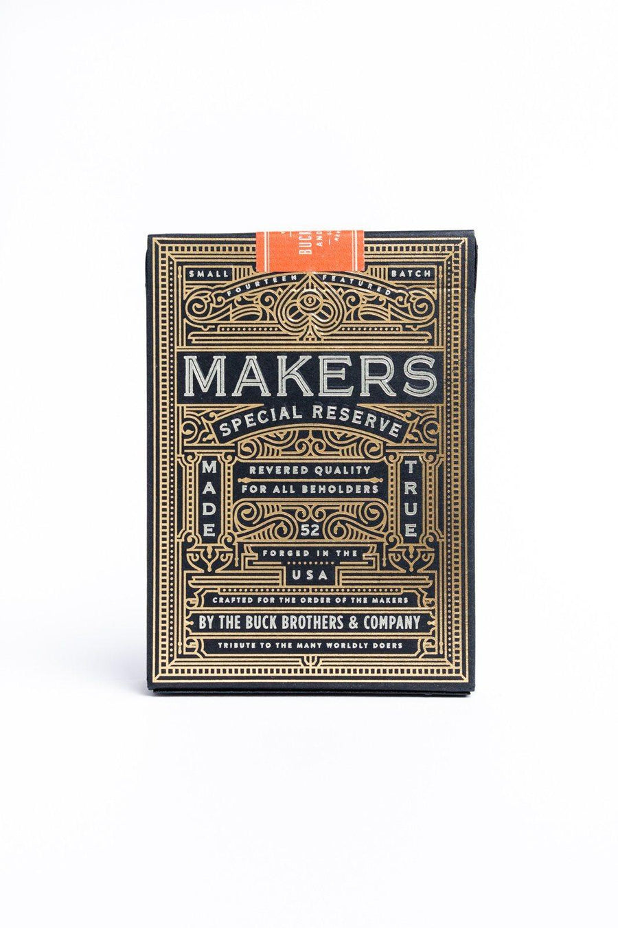 MAKERS: Blacksmith Edition Playing Cards by Dan & Dave
