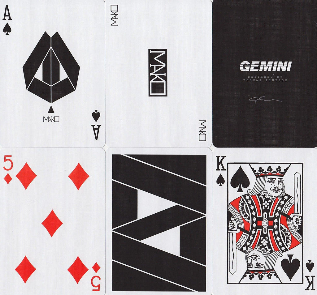 Mako Playing Cards by Gemini