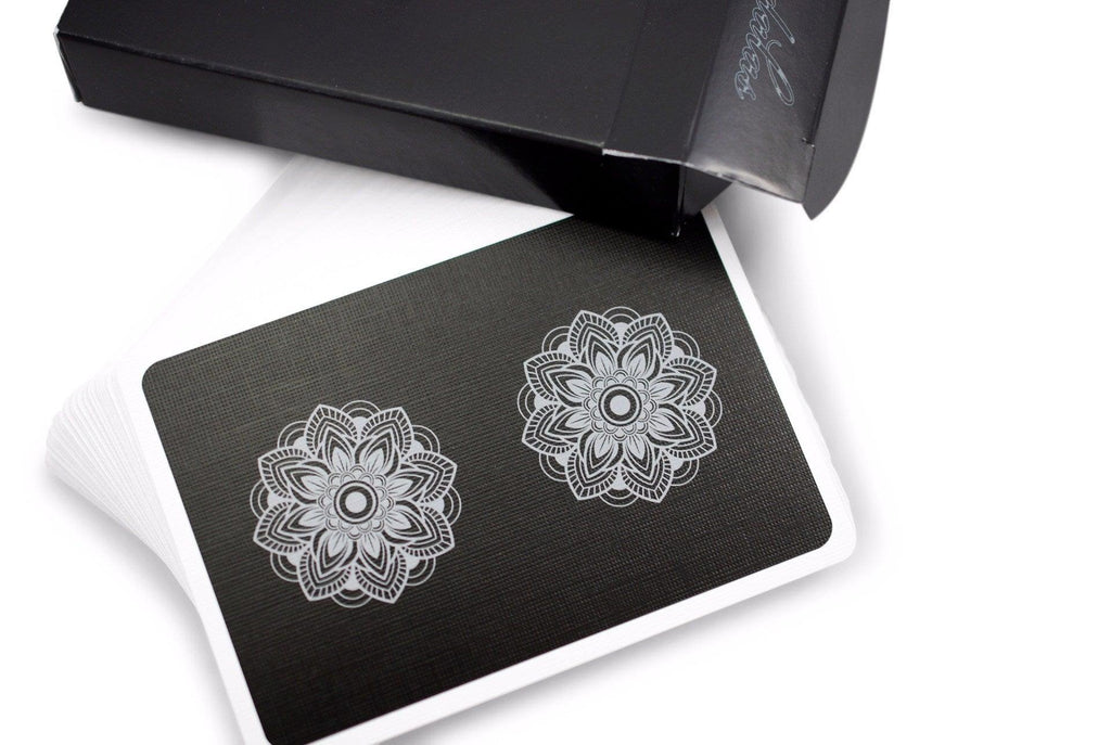 Mandalas Playing Cards - RarePlayingCards.com - 4