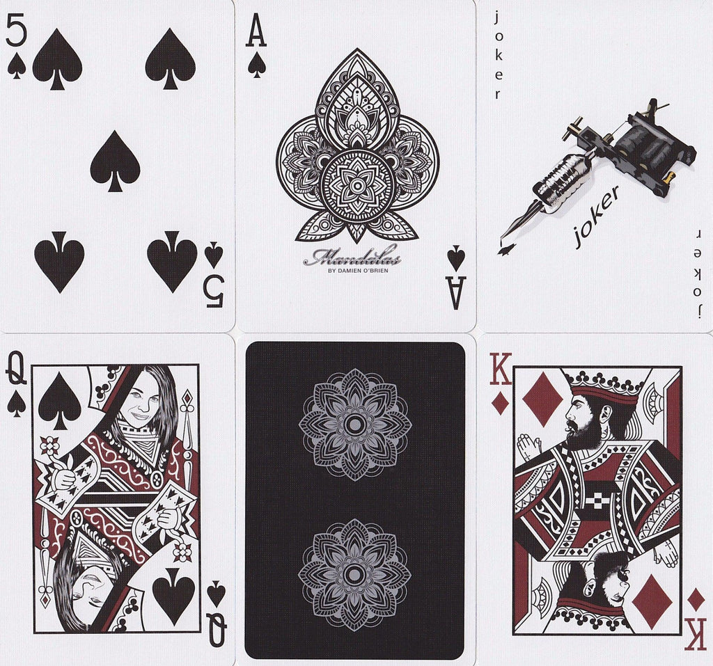 Mandalas Playing Cards - RarePlayingCards.com - 8