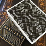 Manifesto Gold Playing Cards