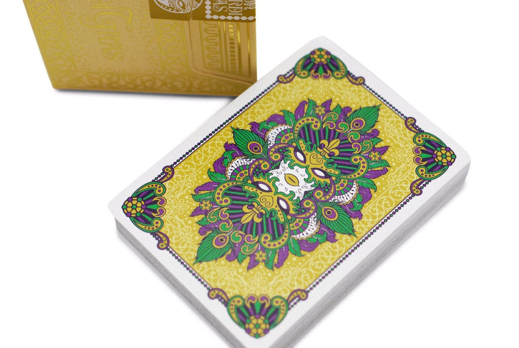 Mardi Gras Playing Cards - RarePlayingCards.com - 1