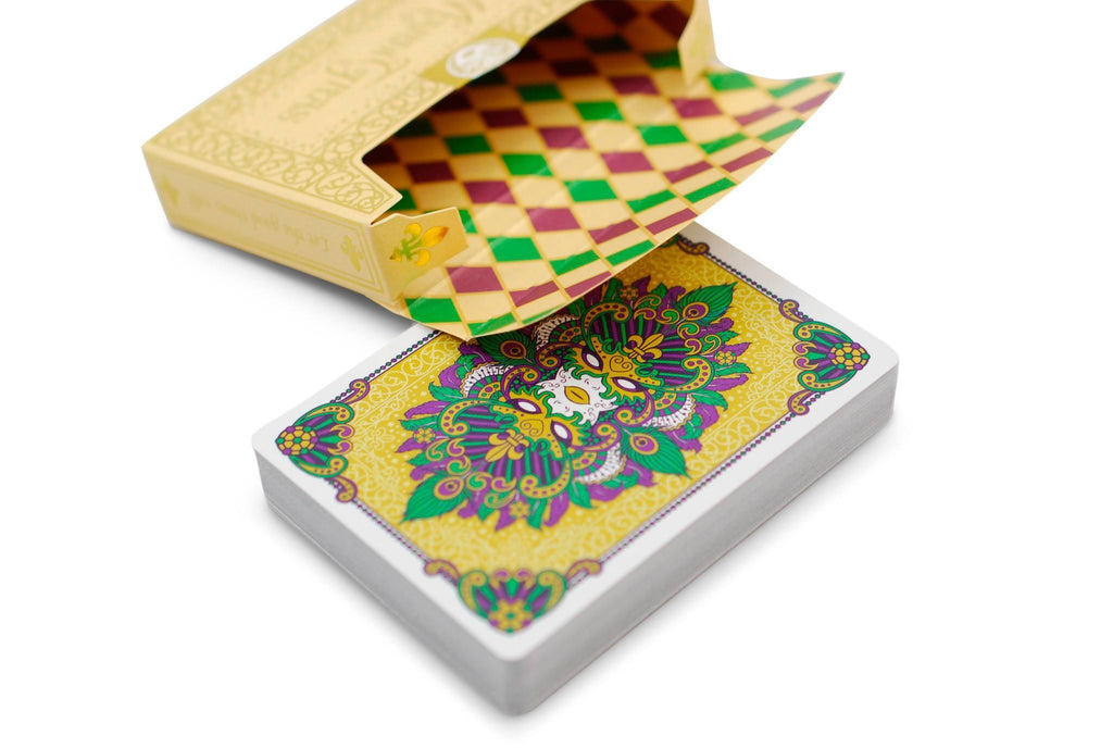 Mardi Gras Playing Cards - RarePlayingCards.com - 4