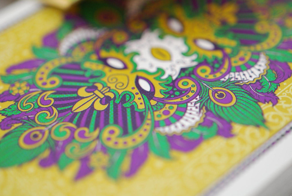 Mardi Gras Playing Cards by Expert Playing Card Co.