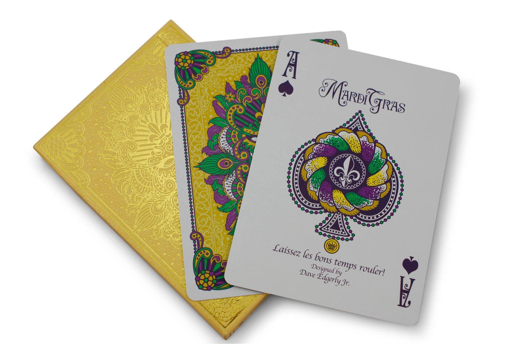 Mardi Gras Playing Cards - RarePlayingCards.com - 7