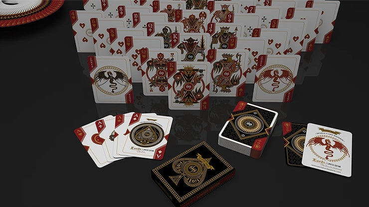 Master Series - Lordz Playing Cards by De'vo