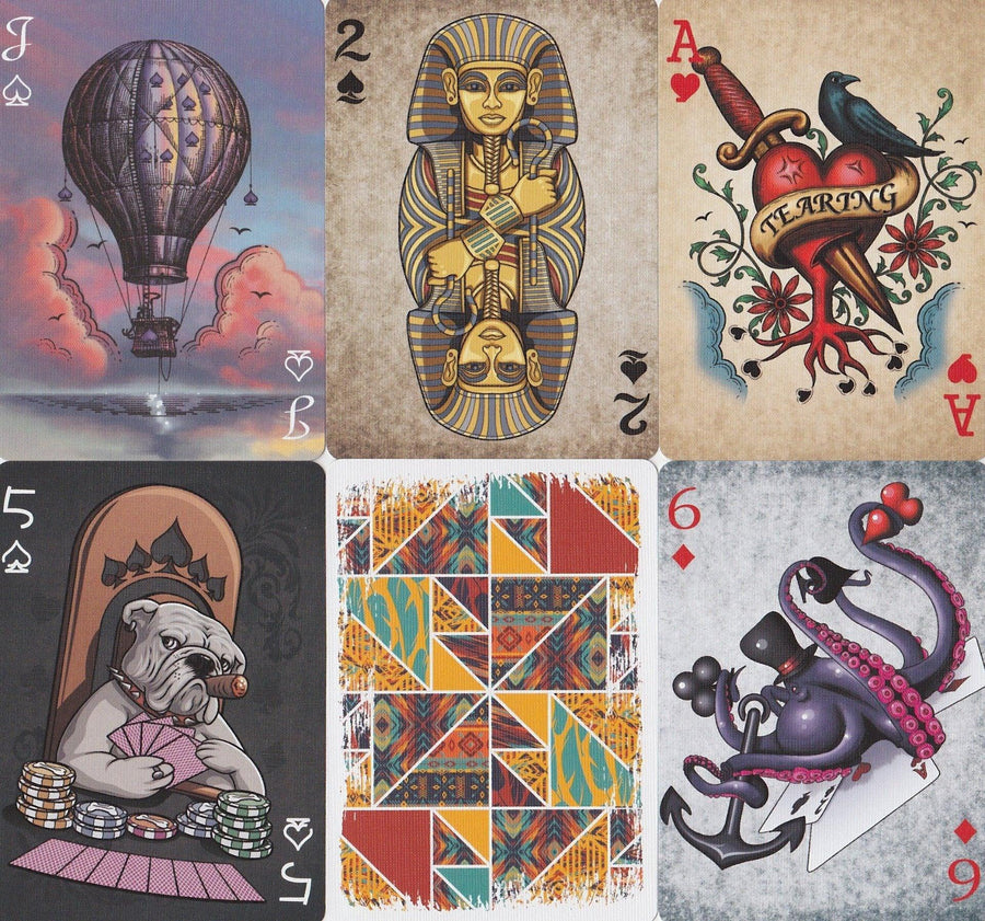 Masterpieces Playing Cards by Bocopo Playing Card Co.