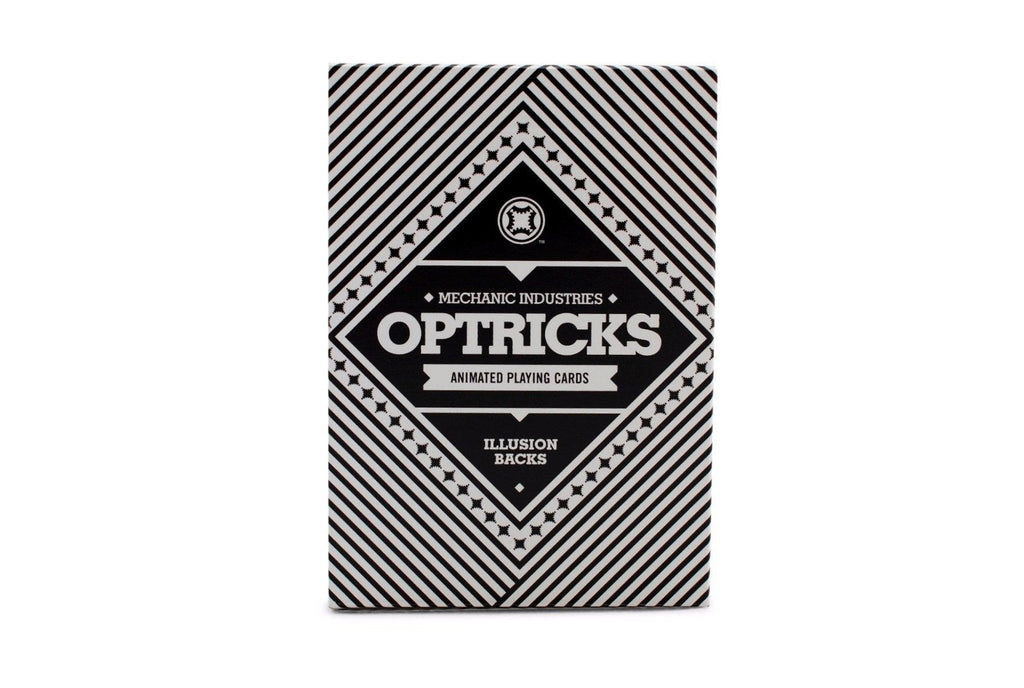 Mechanic Optricks Playing Cards - RarePlayingCards.com - 1
