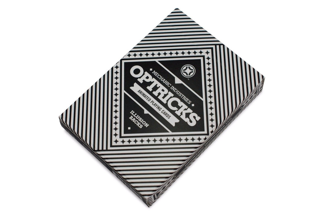 Mechanic Optricks Playing Cards - RarePlayingCards.com - 2