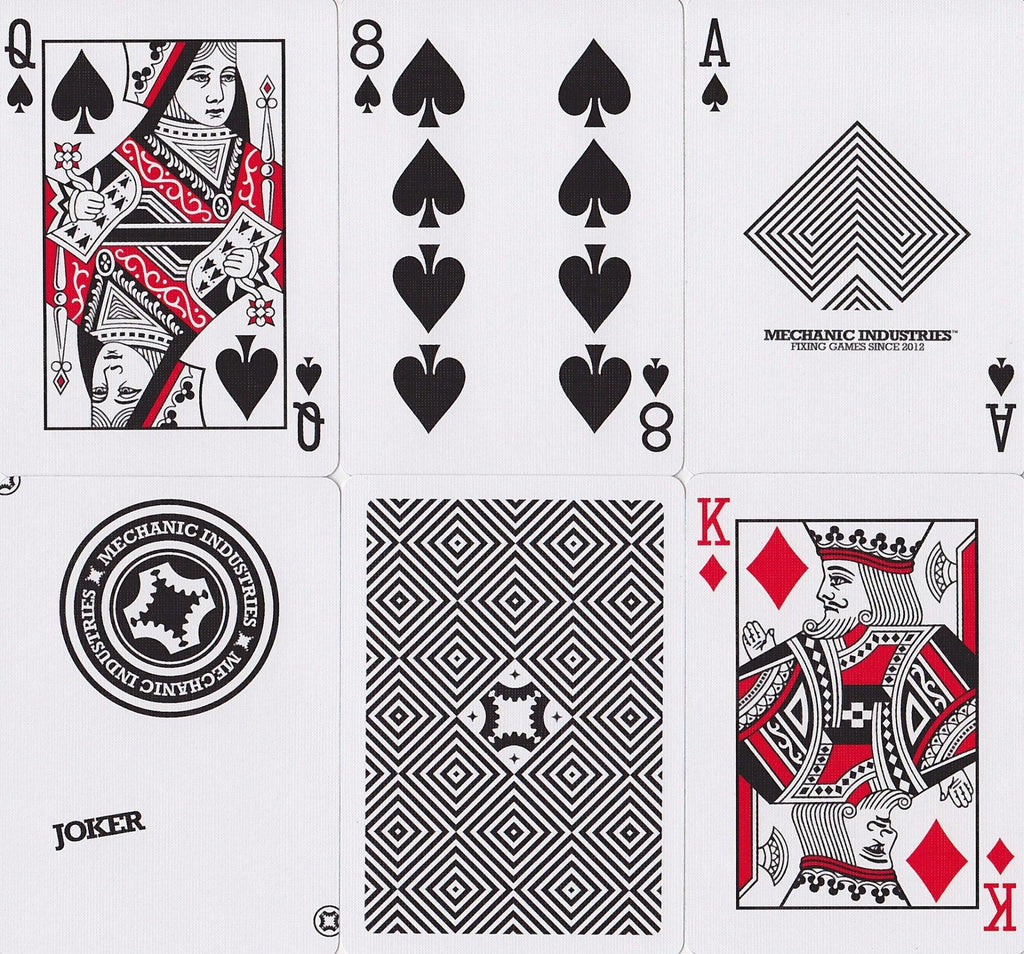 Mechanic Optricks Playing Cards - RarePlayingCards.com - 7