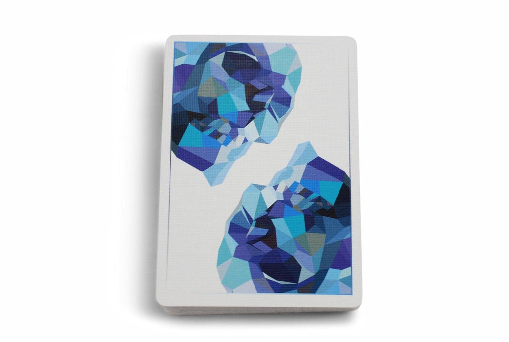 Memento Mori, Blue Edition Playing Cards by Murphy's Magic
