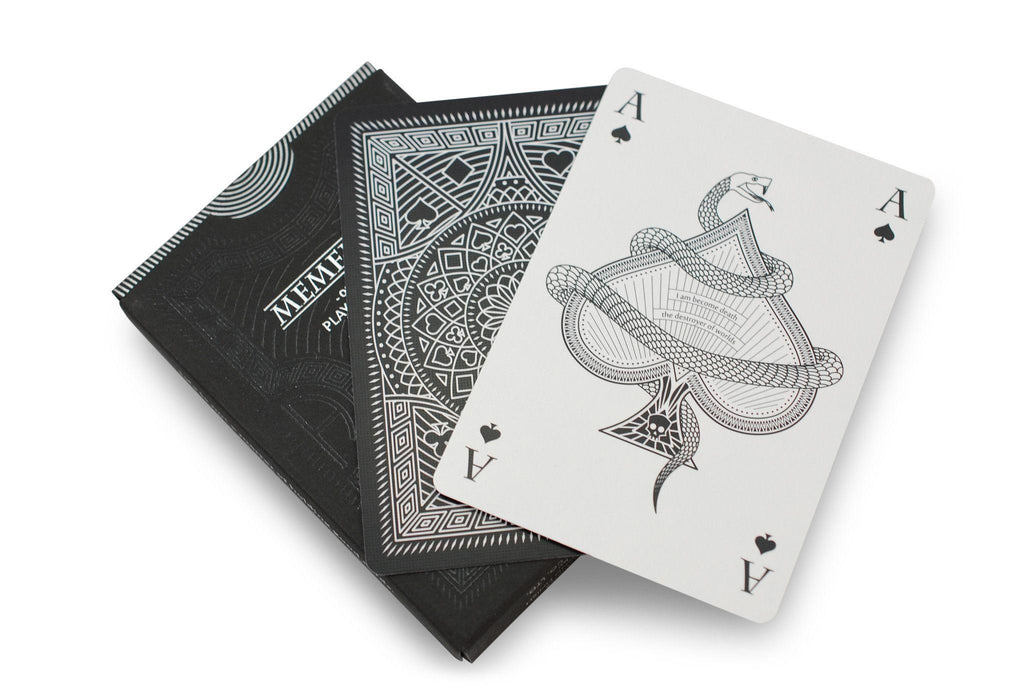 Memento Shadow Playing Cards - RarePlayingCards.com - 7