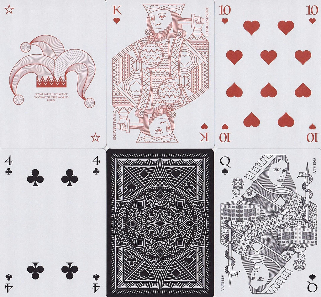 Memento Shadow Playing Cards - RarePlayingCards.com - 8