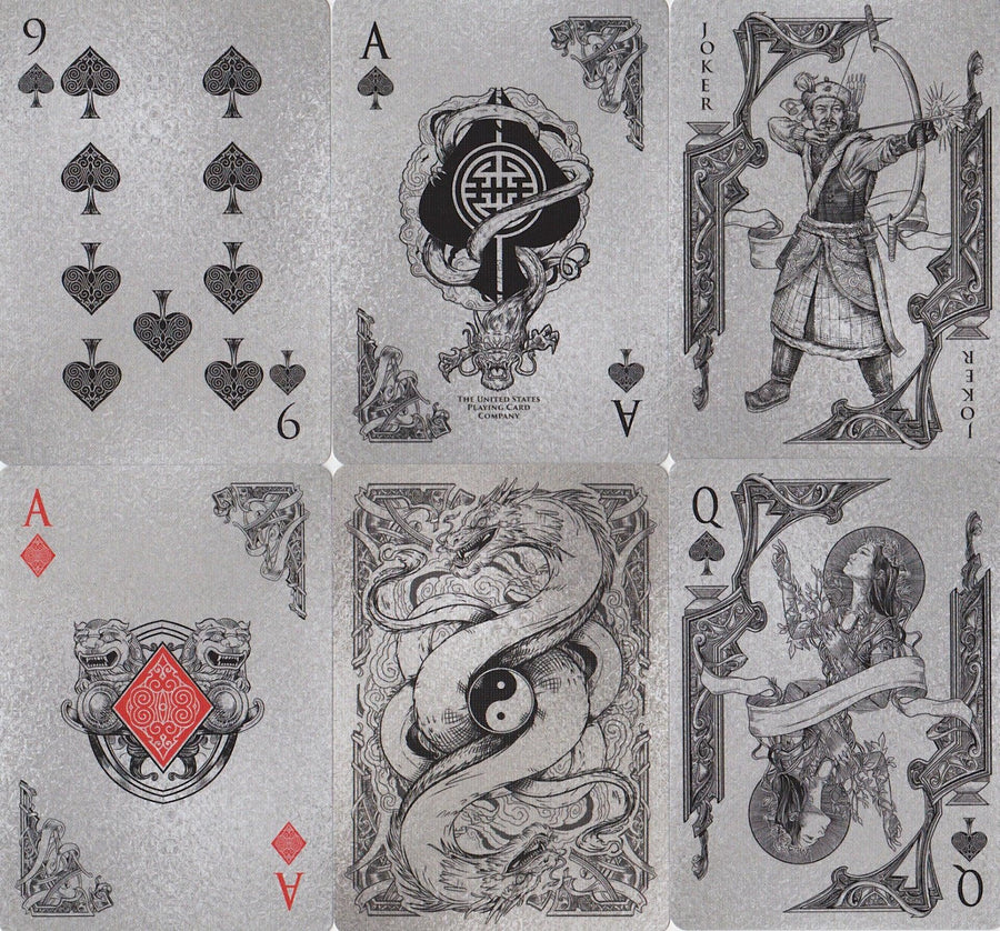 Middle Kingdom Playing Cards by US Playing Card Co.
