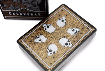 Midnight Calaveras Playing Cards by Dead On Paper