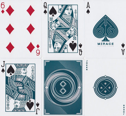 Mirage Playing Cards by Patrick Kun