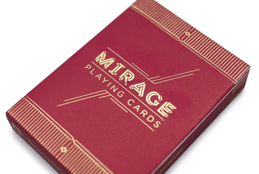 Mirage V2 Playing Cards by Patrick Kun