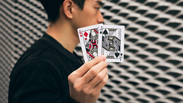 Mirage V3 Playing Cards by Patrick Kun