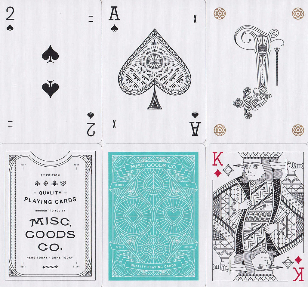 Misc. Goods Co. Playing Cards - RarePlayingCards.com - 10