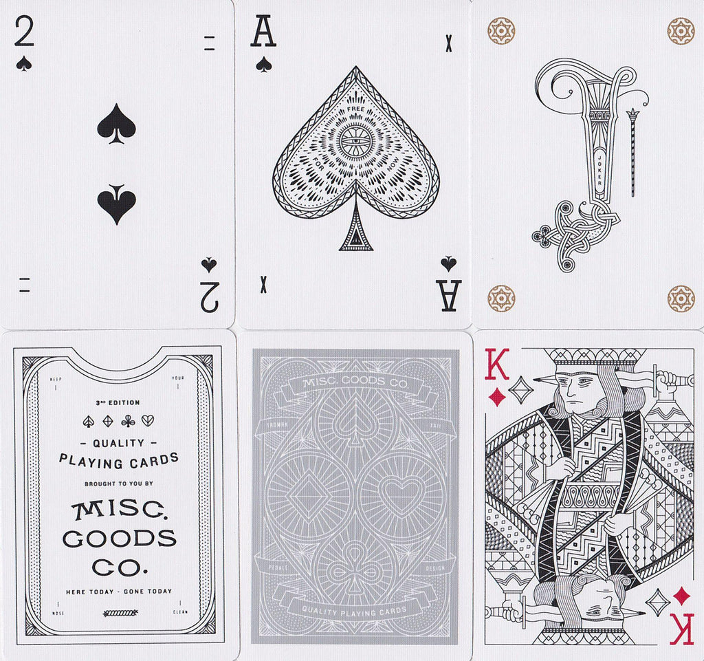 Misc. Goods Co. Playing Cards - RarePlayingCards.com - 11