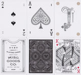 Misc. Goods Co. Playing Cards - RarePlayingCards.com - 12