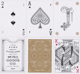 Misc. Goods Co. Playing Cards - RarePlayingCards.com - 13