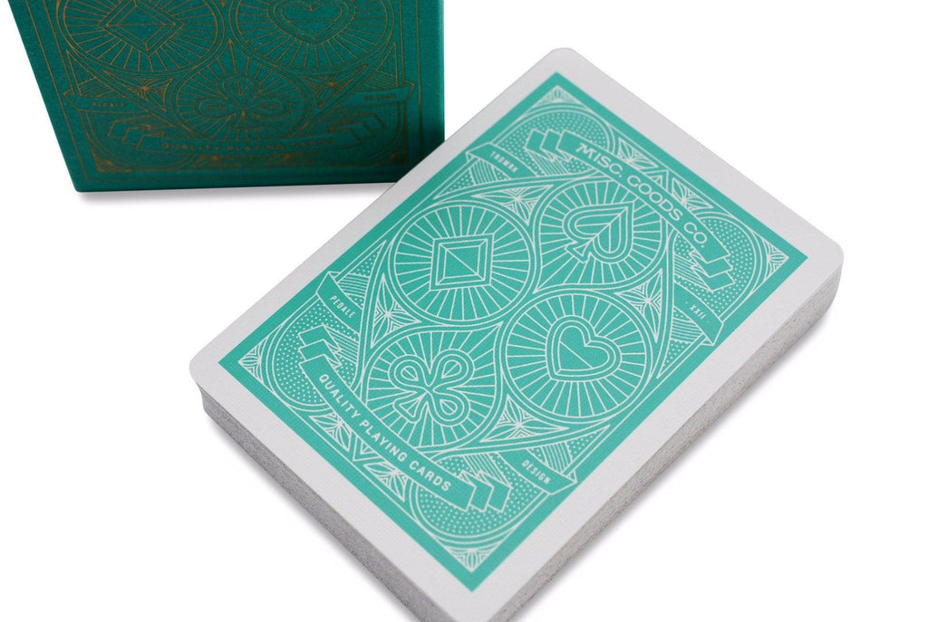 Misc. Goods Co. Playing Cards - RarePlayingCards.com - 1