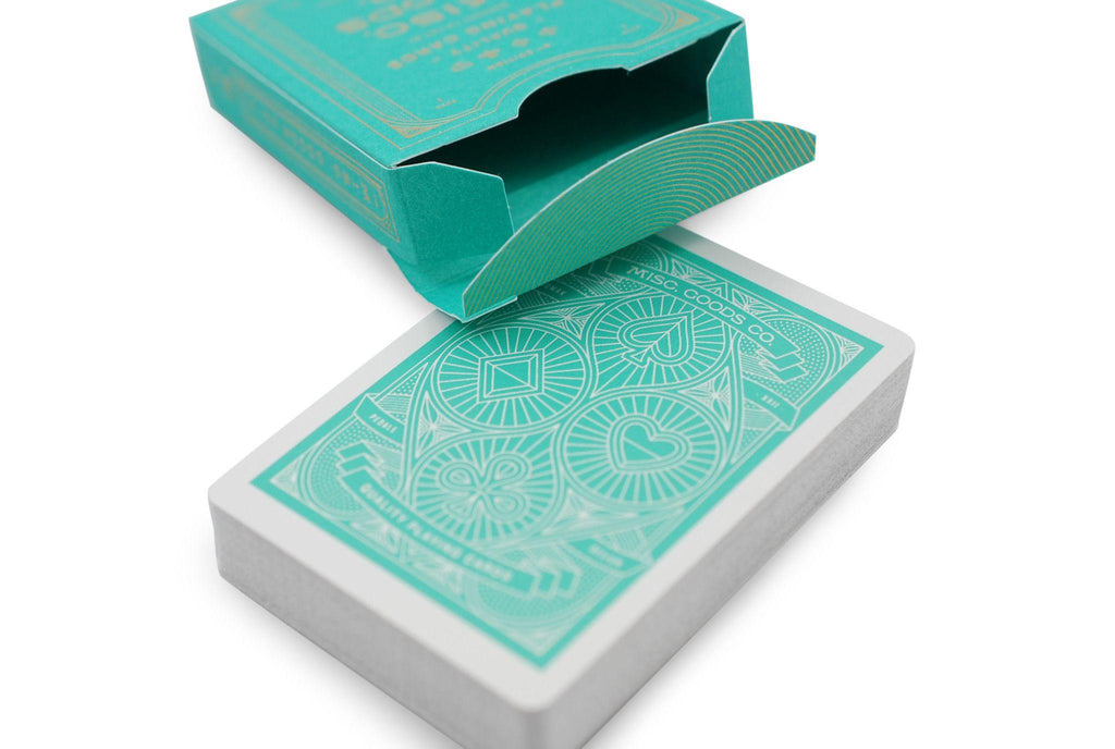 Misc. Goods Co. Playing Cards - RarePlayingCards.com - 6