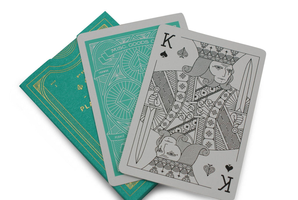 Misc. Goods Co. Playing Cards - RarePlayingCards.com - 9