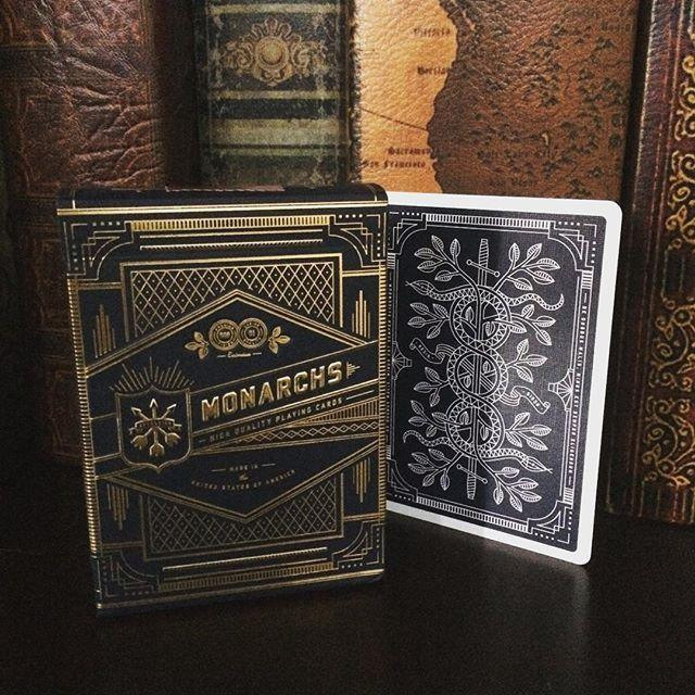 Monarchs Playing Cards by Theory11