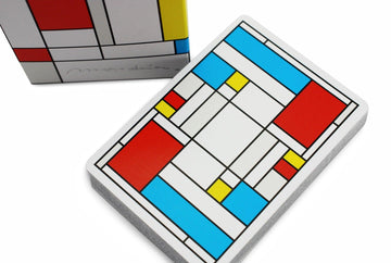 Mondrian Playing Cards by US Playing Card Co.