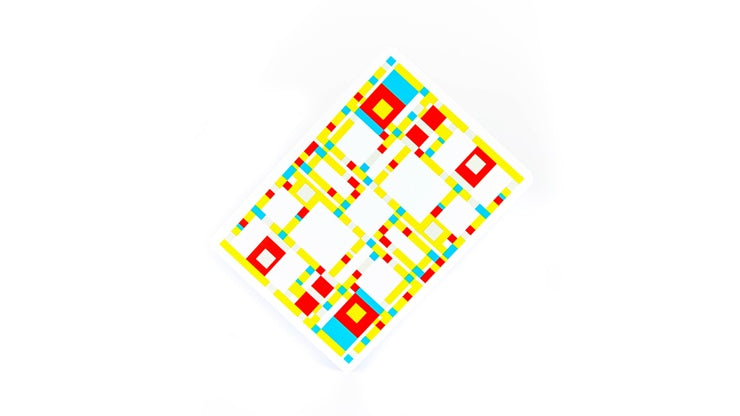 Mondrian: Broadway Playing Cards by got magic?