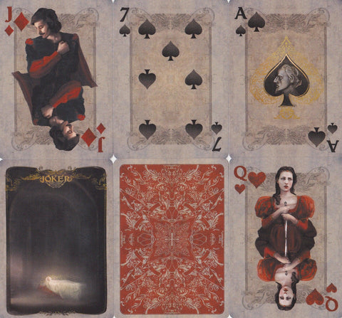 Montague vs Capulet Playing Cards - RarePlayingCards.com - 1