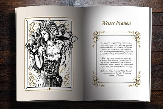Märchen Playing Cards Legends Booklet Playing Cards by Forge Arts