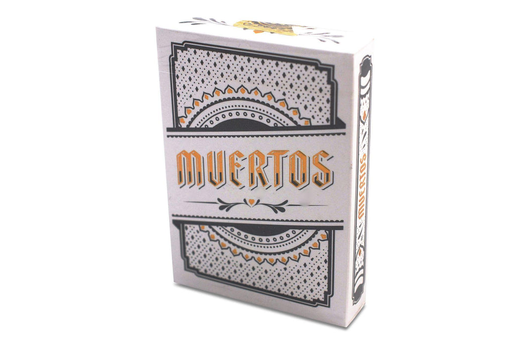 Muertos Mourning Gold Playing Cards - RarePlayingCards.com - 2