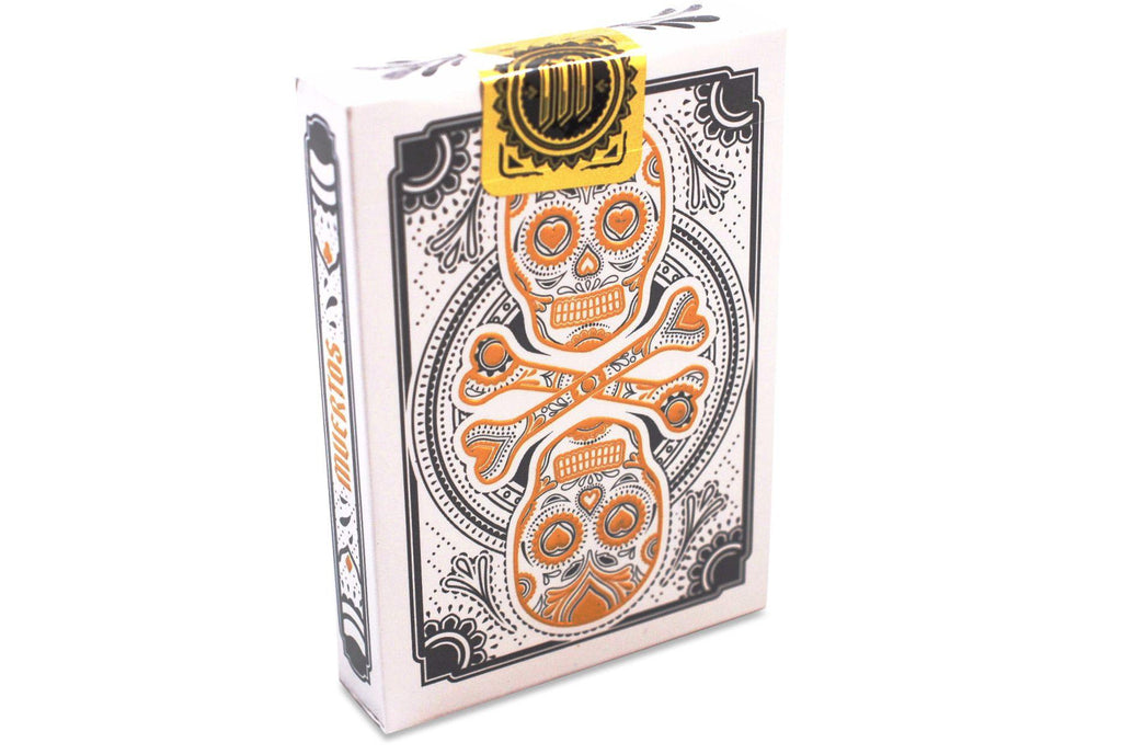 Muertos Mourning Gold Playing Cards - RarePlayingCards.com - 3