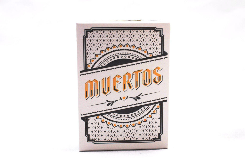 Muertos Mourning Gold Playing Cards - RarePlayingCards.com - 4