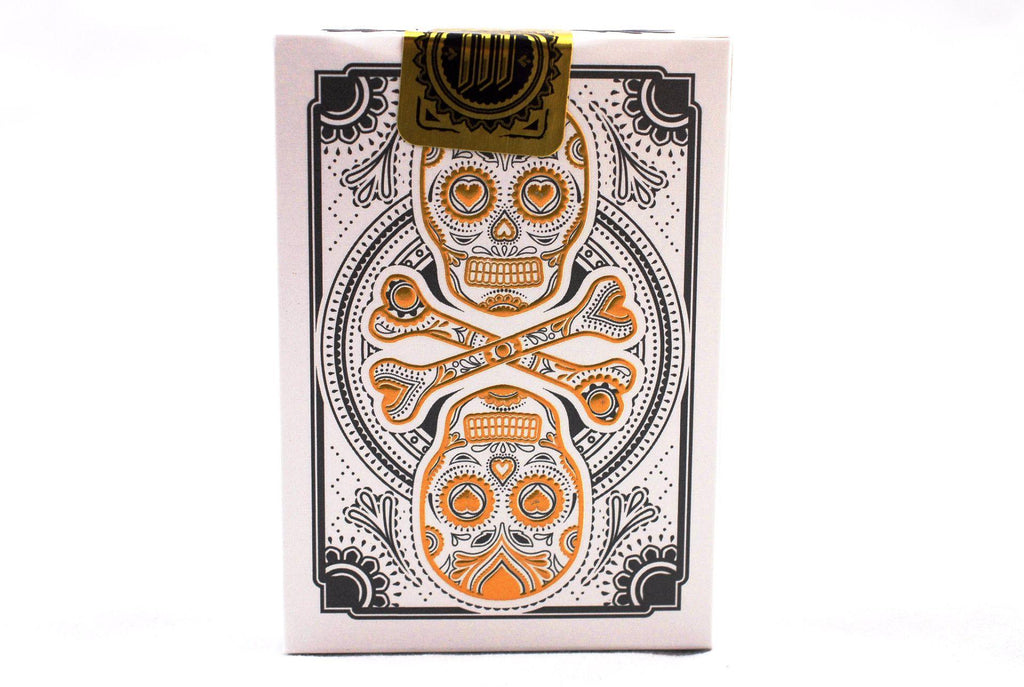 Muertos Mourning Gold Playing Cards - RarePlayingCards.com - 5