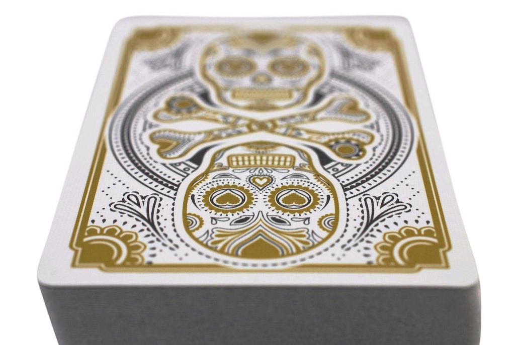 Muertos Mourning Gold Playing Cards - RarePlayingCards.com - 8