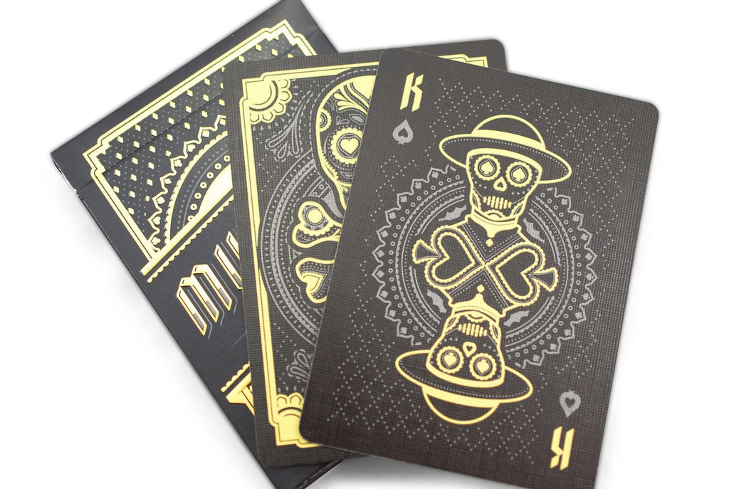 Muertos Night Playing Cards - RarePlayingCards.com - 10