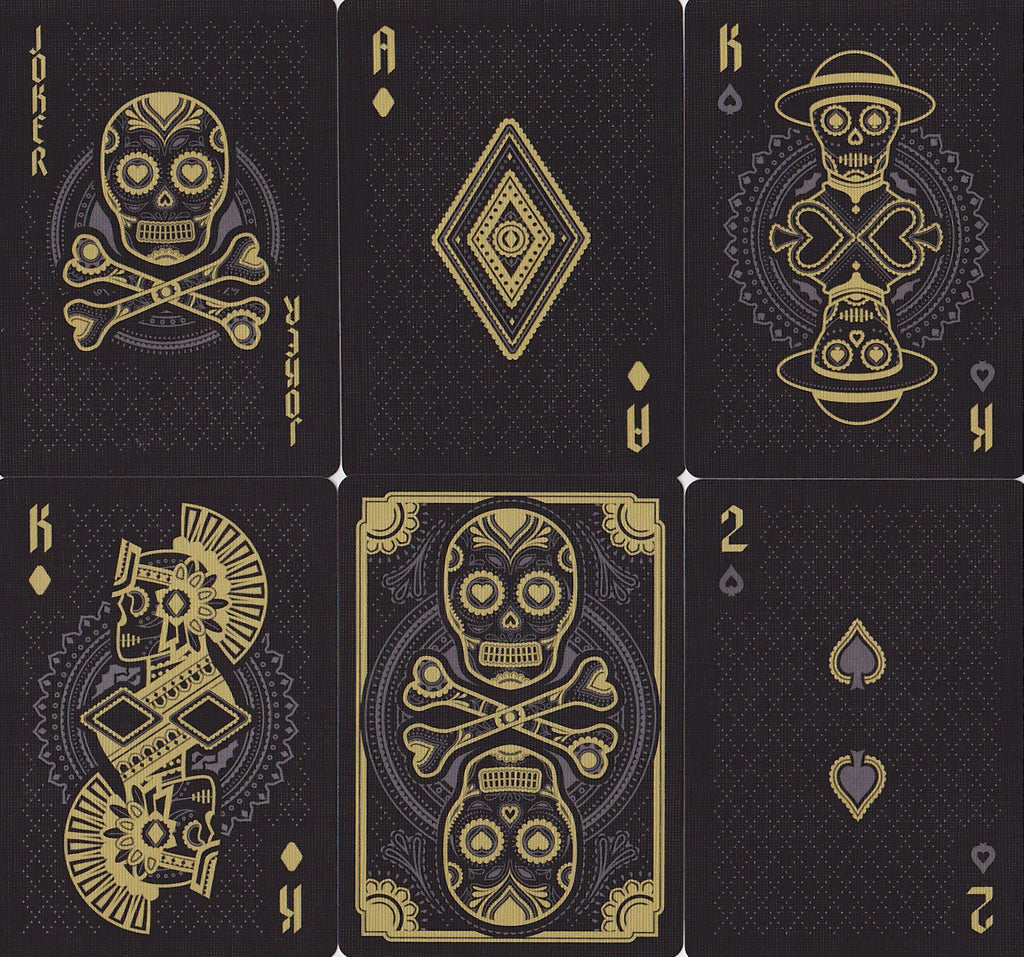 Muertos Night Playing Cards - RarePlayingCards.com - 11