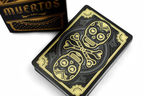 Muertos Night Playing Cards by Steve Minty