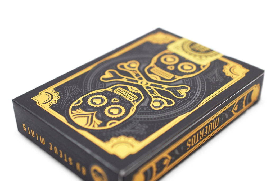 Muertos Night Playing Cards - RarePlayingCards.com - 6