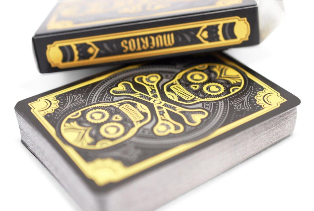 Muertos Night Playing Cards - RarePlayingCards.com - 7
