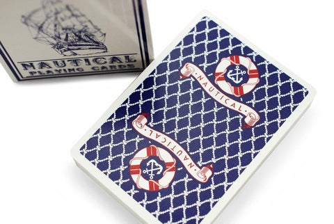 Nautical Playing Cards by The Blue Crown