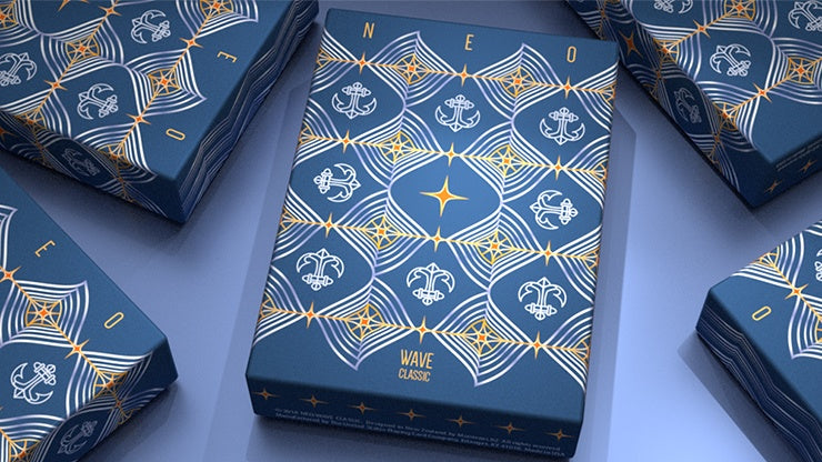 Neo: Wave Classic Playing Cards by US Playing Card Co.