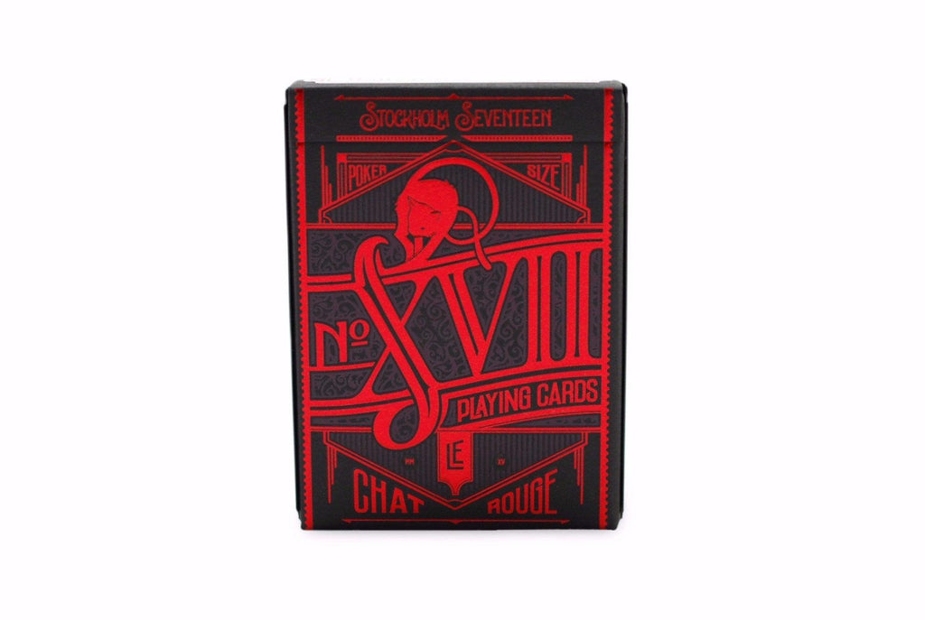 No. 17 Le Chat Rouge Playing Cards - RarePlayingCards.com - 2