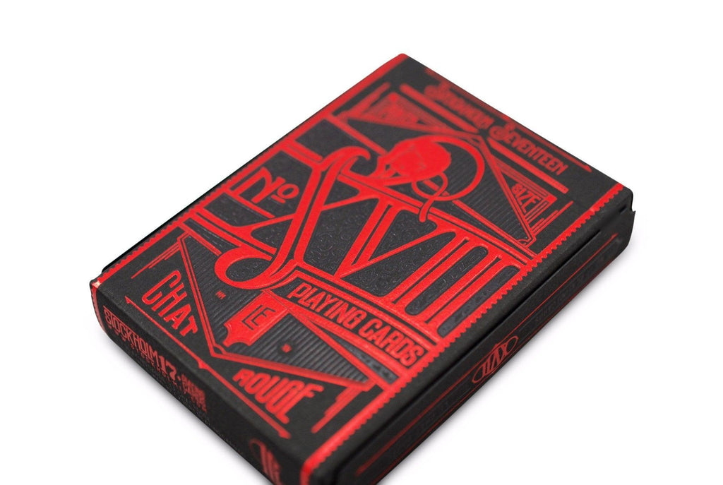 No. 17 Le Chat Rouge Playing Cards - RarePlayingCards.com - 4
